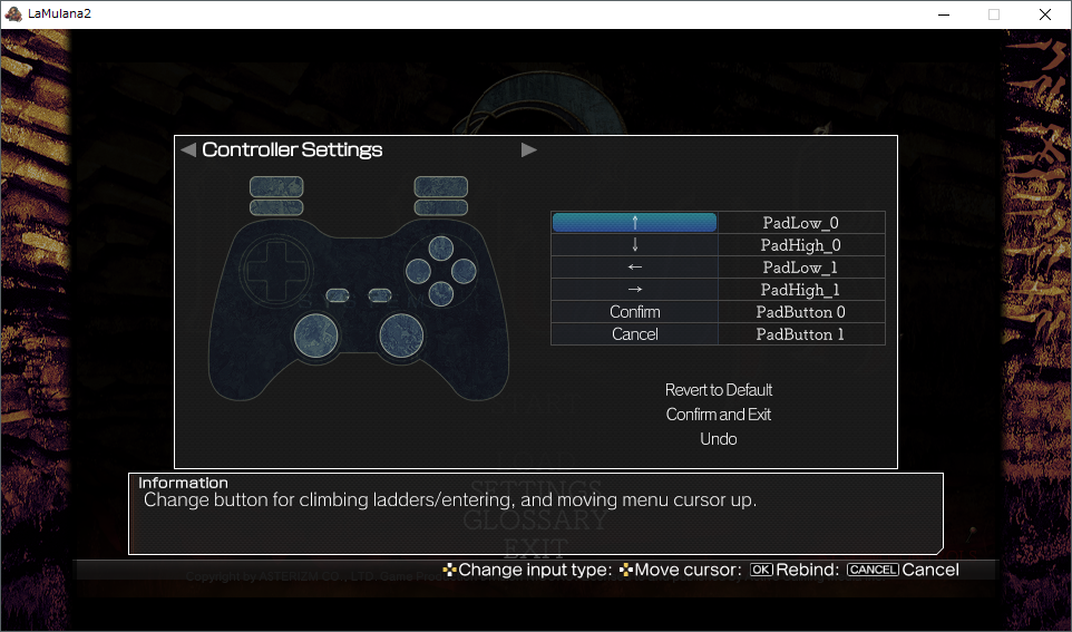 About controller settings – NIGORO